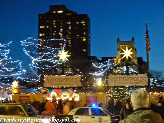 Minneapolis, Christmas Market http://cranberrymorning.blogspot.com ...
