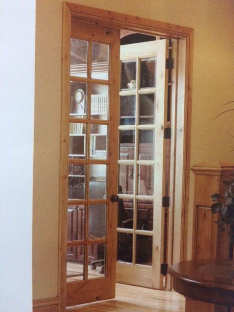 Knotty Alder 12 Lite Interior French Doors In 1006 Ksr Door And Mill Comany In 2020 French Doors Interior French Doors Interior