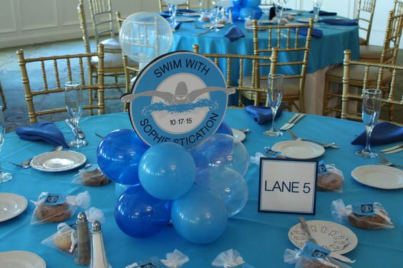 Bat Mitzvah Party Decorator Balloon Centerpieces