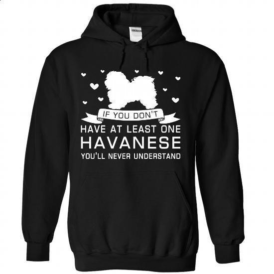 Havanese - #girl tee #cropped sweatshirt. GET YOURS => https://www.sunfrog.com/Pets/Havanese-5250-Black-Hoodie.html?68278