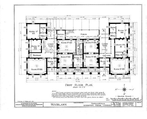 Plantantion Mansion House Plan   Southern Antebellum homes and    Plantantion Mansion House Plan
