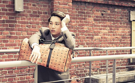 MCM and EXO's Collaboration, Autumn-Winter Lookbook 2014