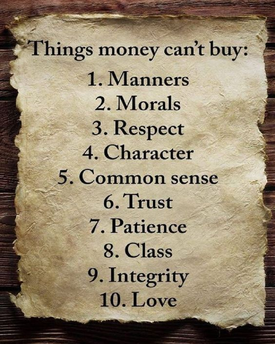 10 Things Money Can't Buy... | life experiences | life lessons | life change | funny life quotes | life changing quotes | juggling life quotes | enjoy life quotes | driven quotes | #Lifequotes #Inspirational #RealLifeQuotes #Motivation #Truth #Wisdom #Advice #Self #Love #Respect #Trust #Class #Patience