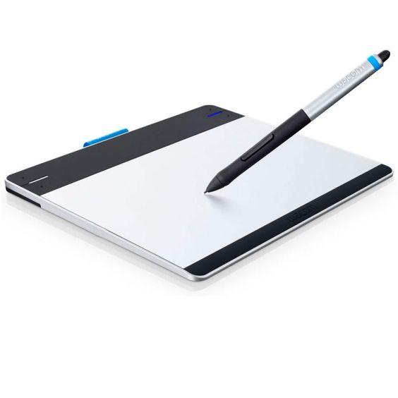 Mesa Digitalizadora Intuos Pen Pequena Wacom / CTL480L / 2.540 Lpi / 1024 Níveis de Pressão
