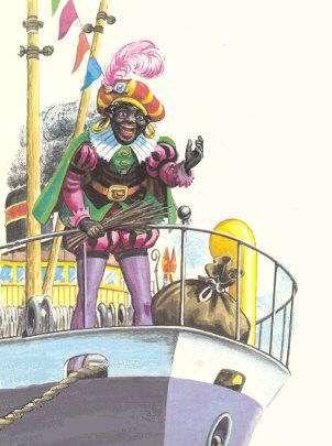 Piet op de boot