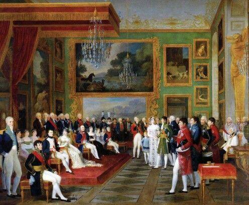 Francois Guillaume Menageot Die Hochzeit Von Eugene De Beauharnais Und Auguste Amalie Von Bayern In Der Grunen Galerie Der Res Napoleon Painting Baden Bavaria