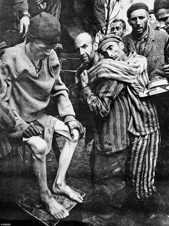 At the end of the war, survivors were freed from Wöbbelin concentration camp to an American Field hospital. Many were only living skeletons. Nazis tried to hide evidence of their mass killings by sending inmates from other concentration camps to Wöbbelin