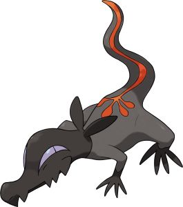 Pokémon Sun & Moon - New Pokémon Salandit