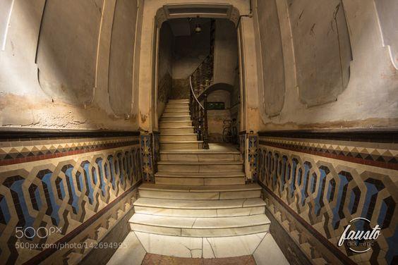 - Old hallway - by FaustoMattiaMarino #architecture #building #architexture #city #buildings #skyscraper #urban #design #minimal #cities #town #street #art #arts #architecturelovers #abstract #photooftheday #amazing #picoftheday