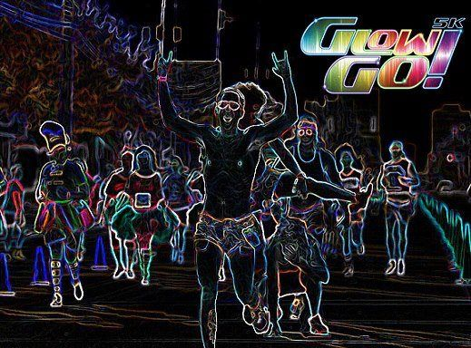 Giveaway: FREE Entry to Glow Go 5K
