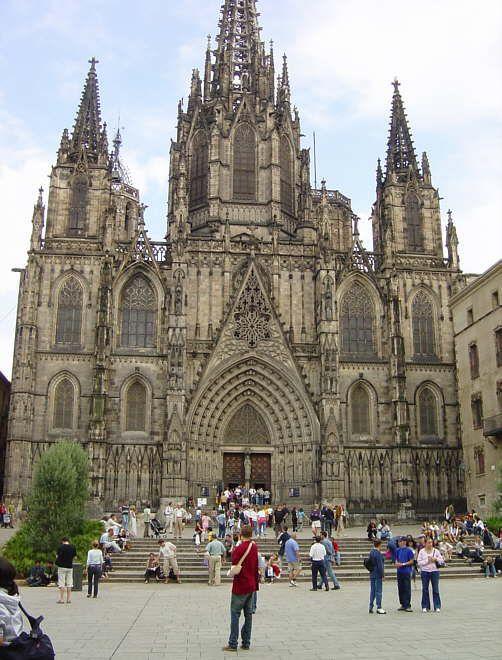 Catedral de Barcelona (Spain)