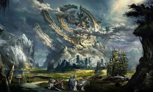 beautiful fantasy landscapes - Google Search