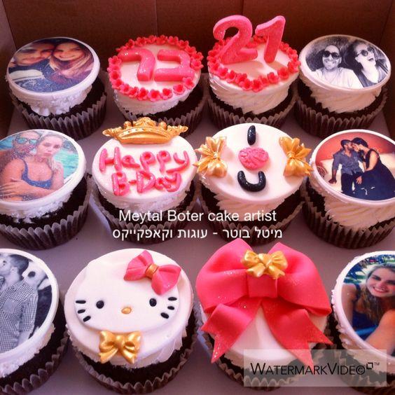 21 birthday cupcakes!