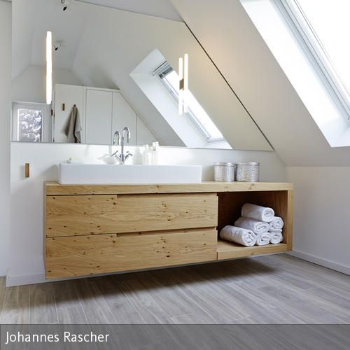 25+ Best Ideas About Bad Unterschrank Holz On Pinterest ... Offenes Badezimmer Im Dachgeschoss