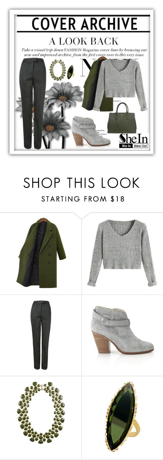 """Untitled #207"" by azurre7 ❤ liked on Polyvore featuring rag & bone, Eye Candy, Lana and Prada"