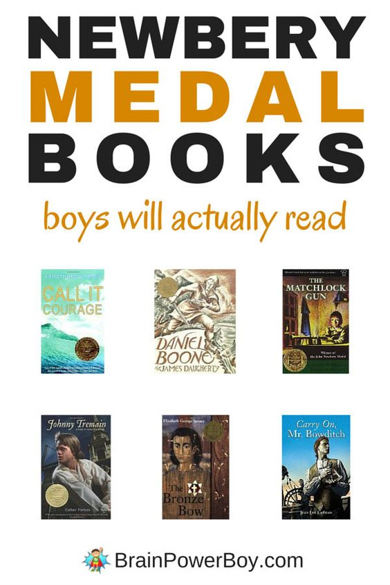 If your boy needs to read an award winner, or you are just looking for a good book for him, check out this list of 12 Newbery Medal Winners that boys will actually enjoy reading.