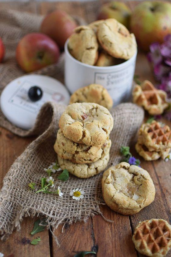 Pekan Kekse mit Apfelkern - Apple Pie Pecan Cookies