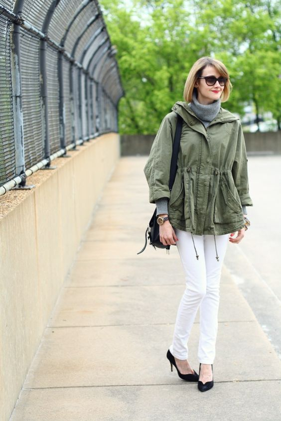fall essential: the anorak