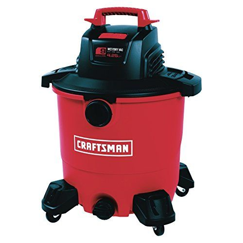 Craftsman 9 Gal Corded 41 4 Hp 110 Volts Wet Dry Vacuum Check Out The Image By Visiting The Link This Is An Aff Wet Dry Vac Wet Dry Vacuum Best Shop Vac
