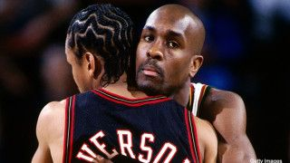 """Gary Payton explains how he might be responsible for Iverson's """"practice"""" rant"""