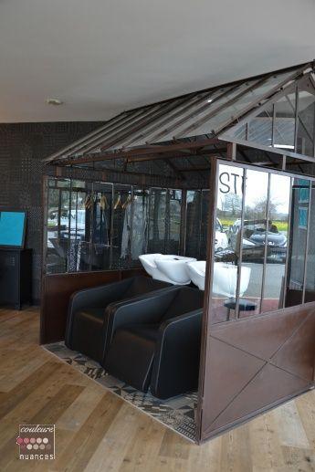 r novation et d coration salon de coiffure st alban 22 serre r alisation couleurs et. Black Bedroom Furniture Sets. Home Design Ideas