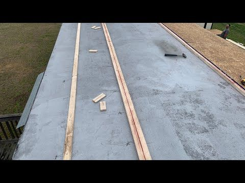 How To Repair Single Wide Mobile Home Trailer Roof Training Video Part One Youtube Mobile Home Roof Mobile Home Single Wide Mobile Homes