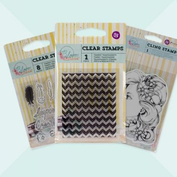 Create memories by adding these stamps and stencils to a variety of your projects! They're perfect for handmade cards, art journals, scrapbook pages, and more. Available in a variety of designs, each sold separately!