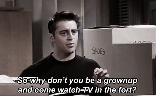 "@Carrie Rainey....only if we can watch the moving episode where Ross says ""PIVOT"" a thousand times! Haha"