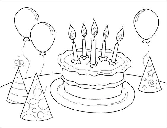 disney themed birthday coloring pages - photo#37