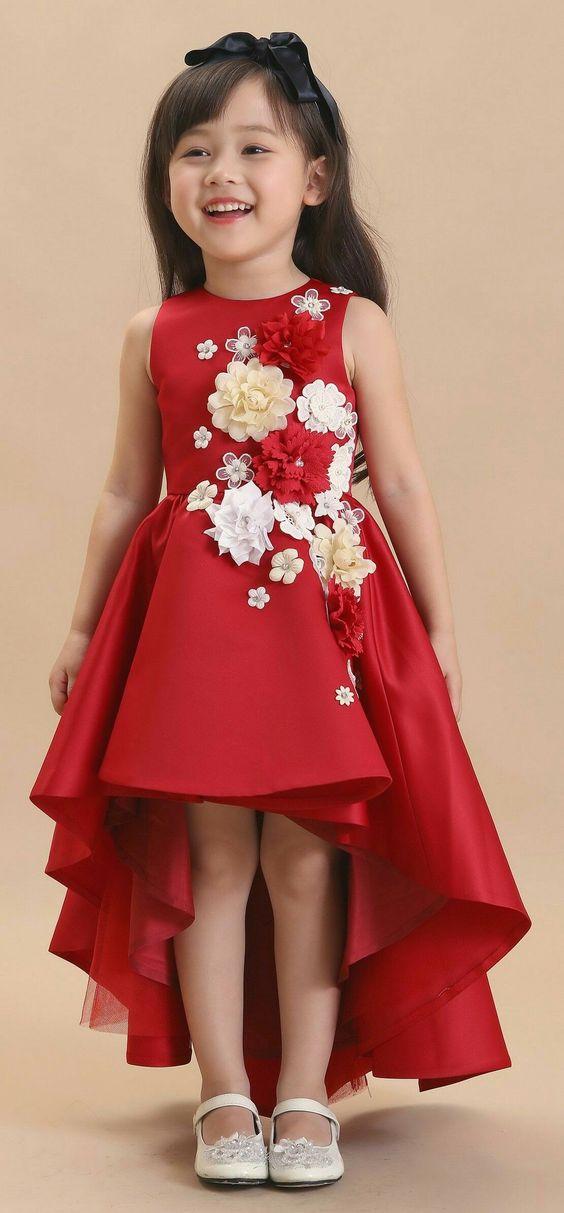 Flower Girl Dress Vestidos Infantis Vestidos Moda Para Meninas