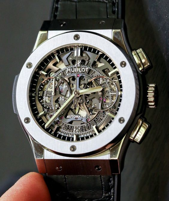Hublot Classic Fusion Aero Chronograph Watch Hands-On