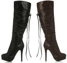 $40 bucks on justfab.com!!! Sooo rocking these boots!
