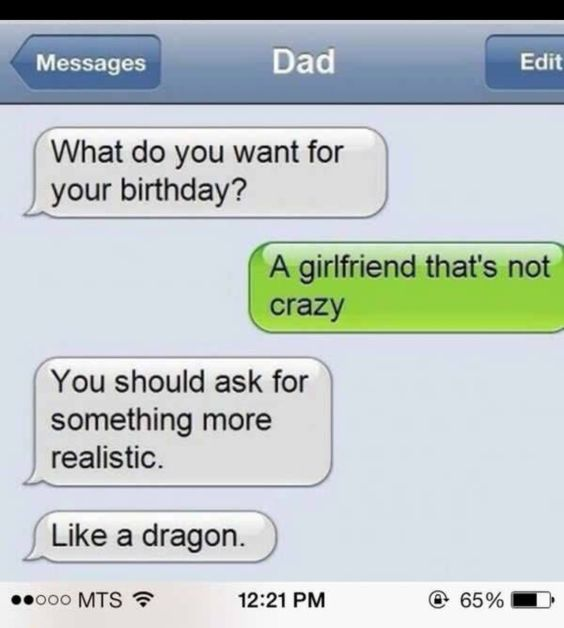 Community Post: 31 Hilarious Dad Texts That Are Stupidly Awesome