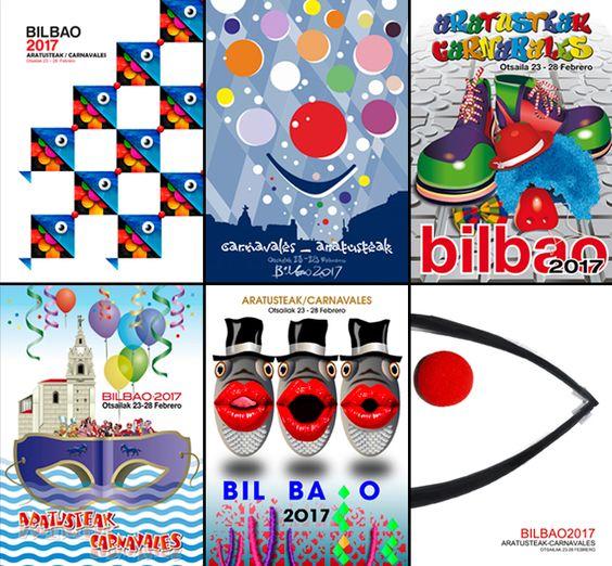 Los carteles finalistas.: