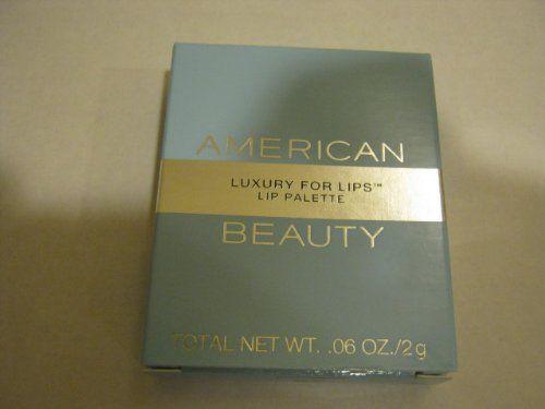 American Beauty ~ Luxury For Lips - Lip Palette - Color - 04 Golden Violet/06 Napa Berry - http://buyonlinemakeup.com/american-beauty/american-beauty-luxury-for-lips-lip-palette-color