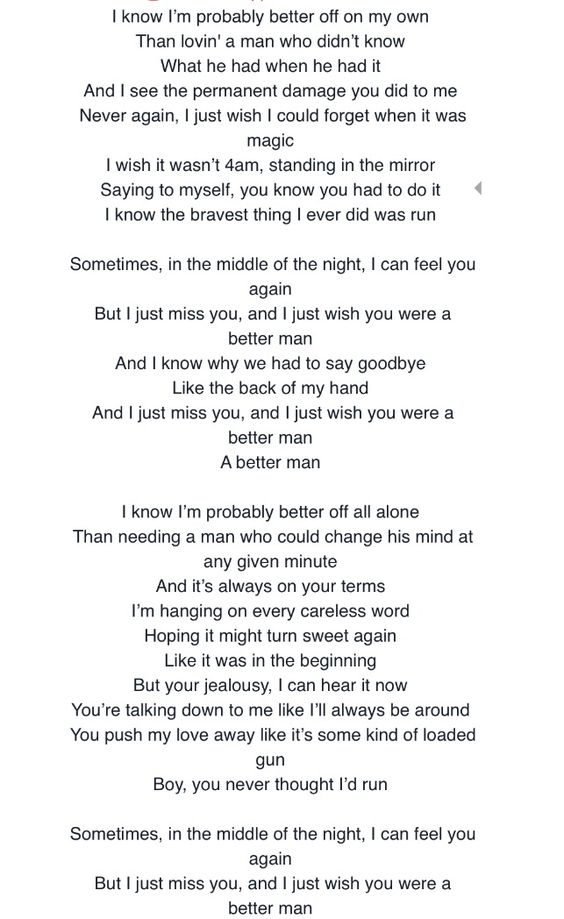 Lyric man song lyrics : Little Big Town - Sober - YouTube | MUSIC | Pinterest | Big town ...