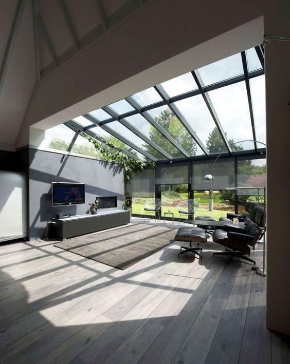 serre uitbouw en overkapping moderne aanbouw met houten vloer door tamara serre. Black Bedroom Furniture Sets. Home Design Ideas