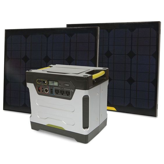 The Solar Power Generator - Hammacher Schlemmer