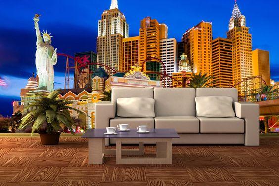 Wall Murals Las Vegas | WALL MURALS LANDMARKS | Pinterest | Wall Murals And  Walls Part 41