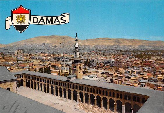 Damascus, panoramic view