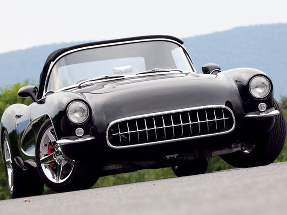 1957 Corvette. My favorite vette. #chevroletcorvettevintage