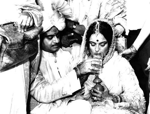 Candid moments from Shatrughan Sinha & Poonam Sinha\'s wedding