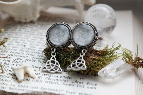 silver Celtic Plugs II #573