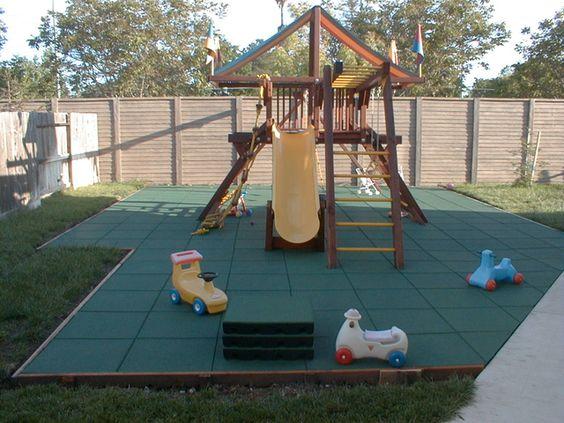 Backyard playground, Playgrounds and Backyards on Pinterest