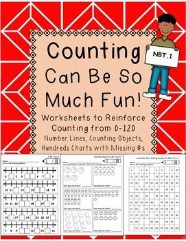 counting to 120 worksheets hundreds charts number lines counting objects math products. Black Bedroom Furniture Sets. Home Design Ideas