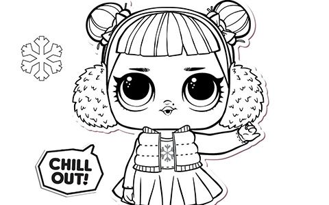 Lol Surprise Winter Disco Coloring Pages Disney Wallpaper Coloring Pages Lol Dolls