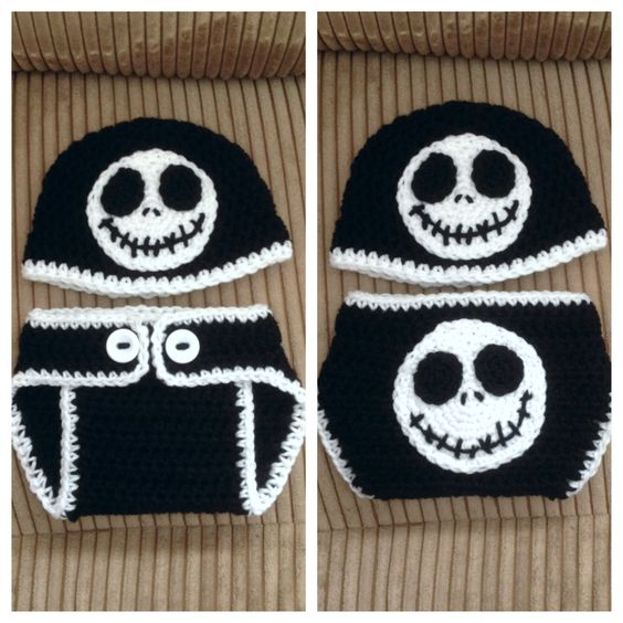 Jack Skellington Hat Knitting Pattern : Pinterest   The world s catalog of ideas