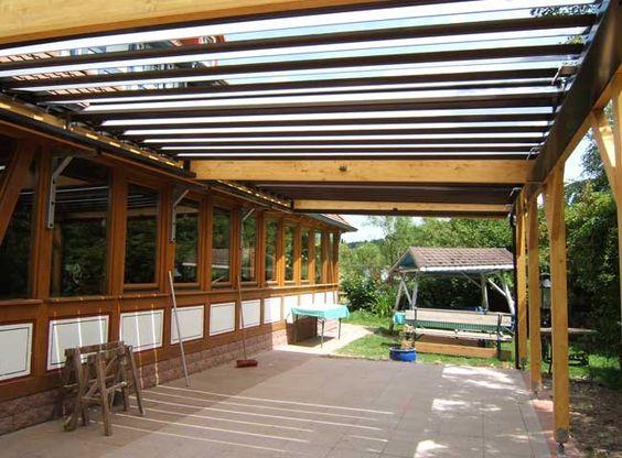 Das Kielgast Vario-Dach ermöglicht das optimale Klima zu jeder Jahreszeit. - NACHHER -