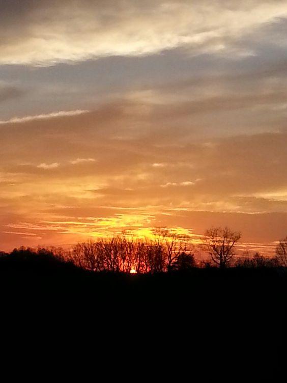 Sunset on Lodebar Farm,  Rural Retreat,  Va...