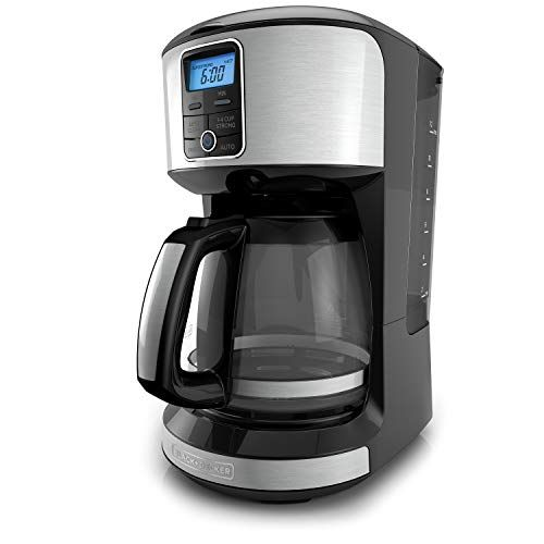 Black Decker 12 Cup Programmable Coffeemaker Stainless Steel Detachable Water Reservoir The Detachable Water Coffee Maker Best Coffee Maker Black Decker